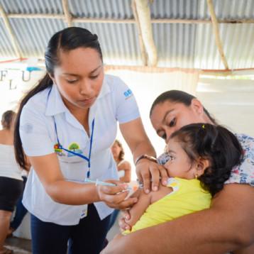 Arranca la campaña de vacunación contra la influenza estacional en Quintana Roo