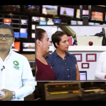 ESCUCHA MARA LEZAMA A COLABORADORES Y CONTRIBUYENTES
