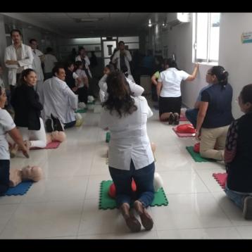 Instituciones de salud y ciudadanos unidos en actividades de cuidado al corazón