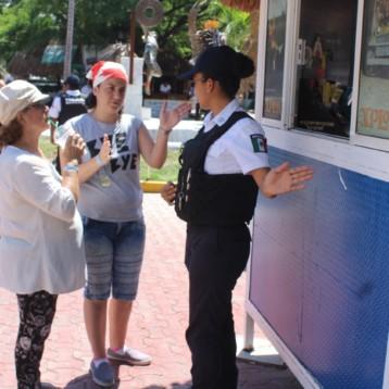 Operativo permanente de vigilancia en zonas turísticas