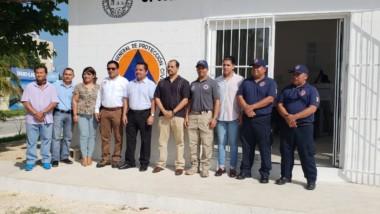 Se inaugura módulo de atención de Protección Civil en Puerto Aventuras