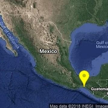 Se registra Sismo de 5.7 en Chiapas; inician revisión de posibles daños