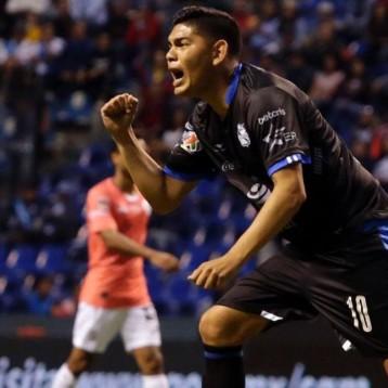 Espericueta anotó su primer gol en Liga Bancomer