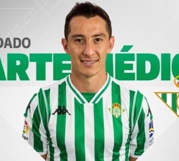 Betis confirma lesión de Guardado; regresa en 15 días, según el doctor Meraz