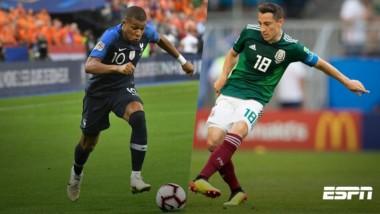 México supera a Francia en estadísticas de Rusia 2018