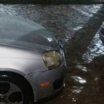 Lluvia inunda a Mazatlán; se suspenden las clases