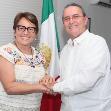 Estado y Municipio trabajan juntos por un mejor Solidaridad