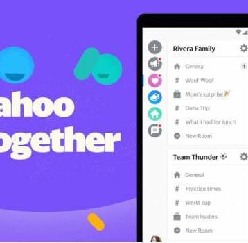 Yahoo Together, la nueva app de mensajería para grupos