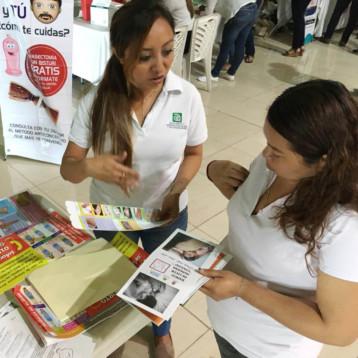 Trabaja Mara Lezama por la salud de las mujeres