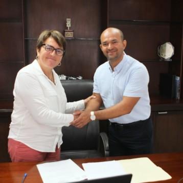 La Presidenta Municipal Laura Beristain nombro a su equipo de colaboradores