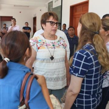 Operan direcciones del Ayuntamiento con normalidad y al servicio de la ciudadanía: Laura Beristain