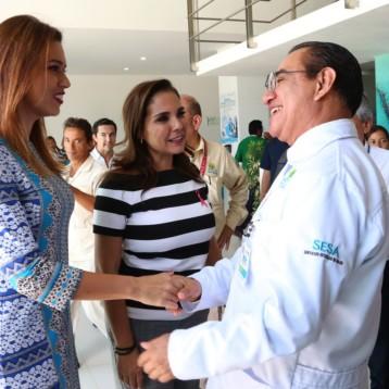 La atención a la salud de las niñas y niños, prioridad para el DIF Benito Juárez.