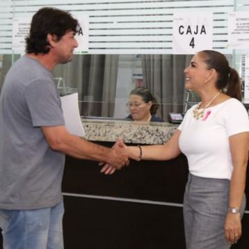 Refrenda Mara Lezama compromiso de trabajo a favor de Benitojuarenses