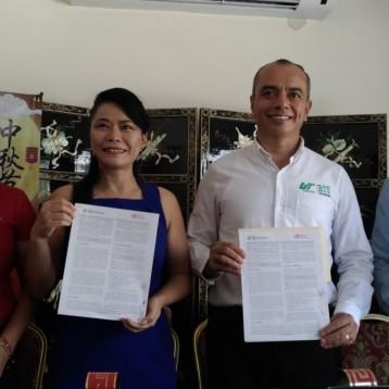 Ratifica y amplía UT Cancún convenio de colaboración con grupo Hong Kong
