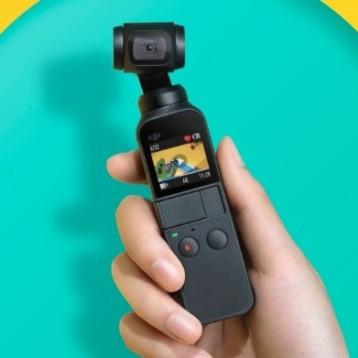 DJI Osmo Pocket, una atractiva y pequeña cámara de acción con estabilizador mecánico que quiere quitar el trono a GoPro
