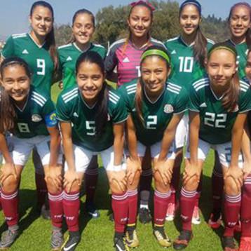 Buen ánimo en la Selección Femenil Sub 17 previo a la Final ante España
