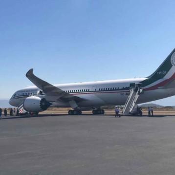 El último vuelo del avión presidencial