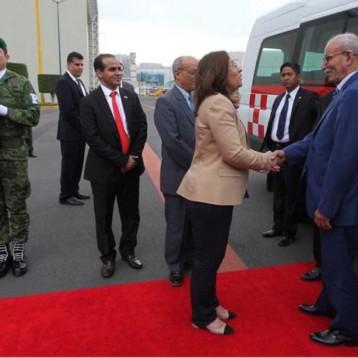 Llegan primeros invitados para investidura de López Obrador