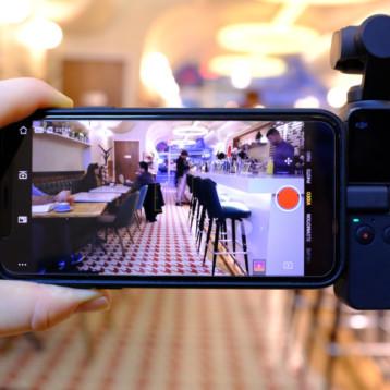 Probamos Osmo Pocket, la diminuta cámara de DJI que graba vídeo 4K con estabilización mecánica