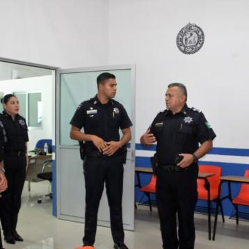 Policía Municipal y gendarmería fortalecen vínculos