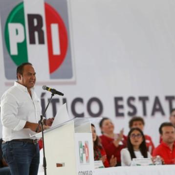 En unidad, y con la fuerza de la militancia, el PRI volverá a ocupar el lugar que le corresponde en la historia de México